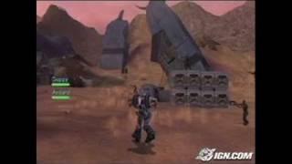 Robotech: Invasion PlayStation 2 Gameplay - Bang, bang.