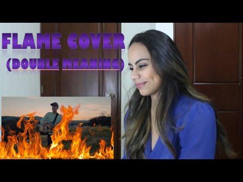 Tinashe - Flame- Leroy Sanchez Cover - (Reaction)