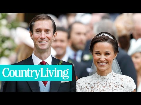 7 Moments from Pippa Middleton's Wedding That Are Exactly the Same as Kate's | Country Living