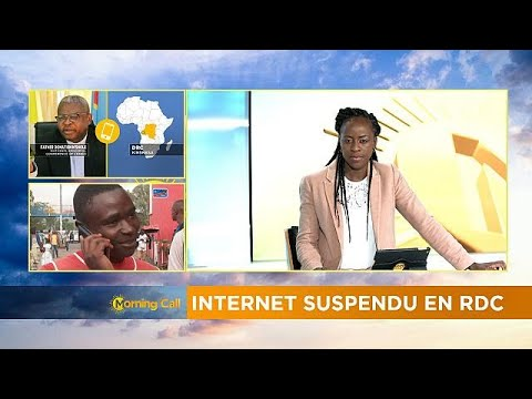 DRC: internet and media cut persists [The Morning Call]