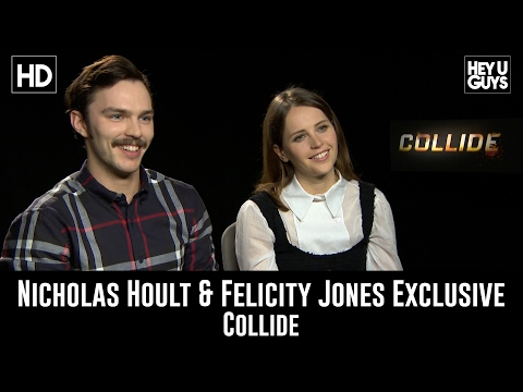 Nicholas Hoult & Felicity Jones talk Collide, X-Men sequel & Star Wars Rogue One