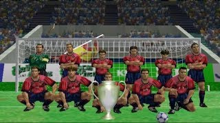 Virtua Striker 2 ver. 2000, Gameplay International Cup, Spain Todos los Goles.