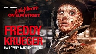 Freddy Krueger Halloween makeup tutorial