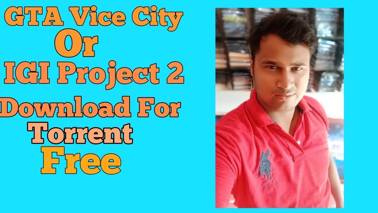 How to download GTA Vice City/ IGI Game For Torrent I Ambika Communication Store I