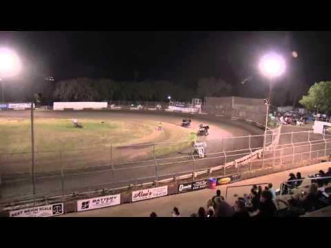 Dominic Scelzi 9/7/12 Plaza Park Raceway Visalia Super 600 Heat Race