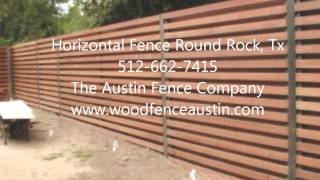 Horizontal Fence Round Rock, Tx 512949-8943