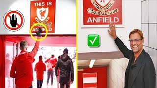 """The STRICT Rule of Jurgen Klopp! Now Players Can Touch """"This is Anfield"""" Sign"""