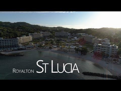 St Lucia - Royalton - Phantom 4 Pro - 4k - 24fps