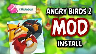 How To Install Angry Birds 2 MOD APK! Unlimited Gems! (Latest Version)