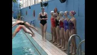 Активность: Синхронное плавание