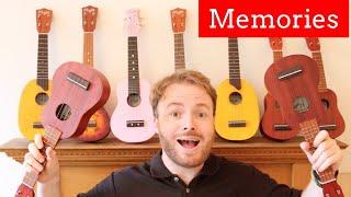 Maroon 5 - Memories (Ukulele Tutorial)