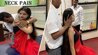 Neck Pain Treatment || by chiropractic || Dr. Rajneesh Kant || Indian chiropractor