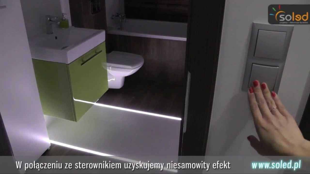 Oświetlenie Led W Fudze So Hr Oświetlenie łazienki łazienkowe Aranżacja łazienki