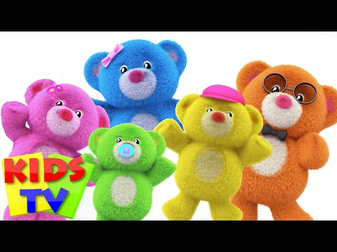 Thumbnail: Teddy Bear Finger Family | Teddy Bear Teddy bear Turn Around | Nursery Rhymes | Kids songs