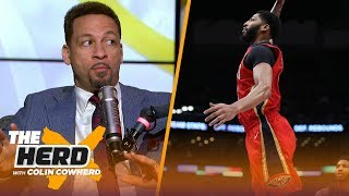Chris Broussard addresses rumors that Anthony Davis could join LeBron on the Lakers | NBA | THE HERD