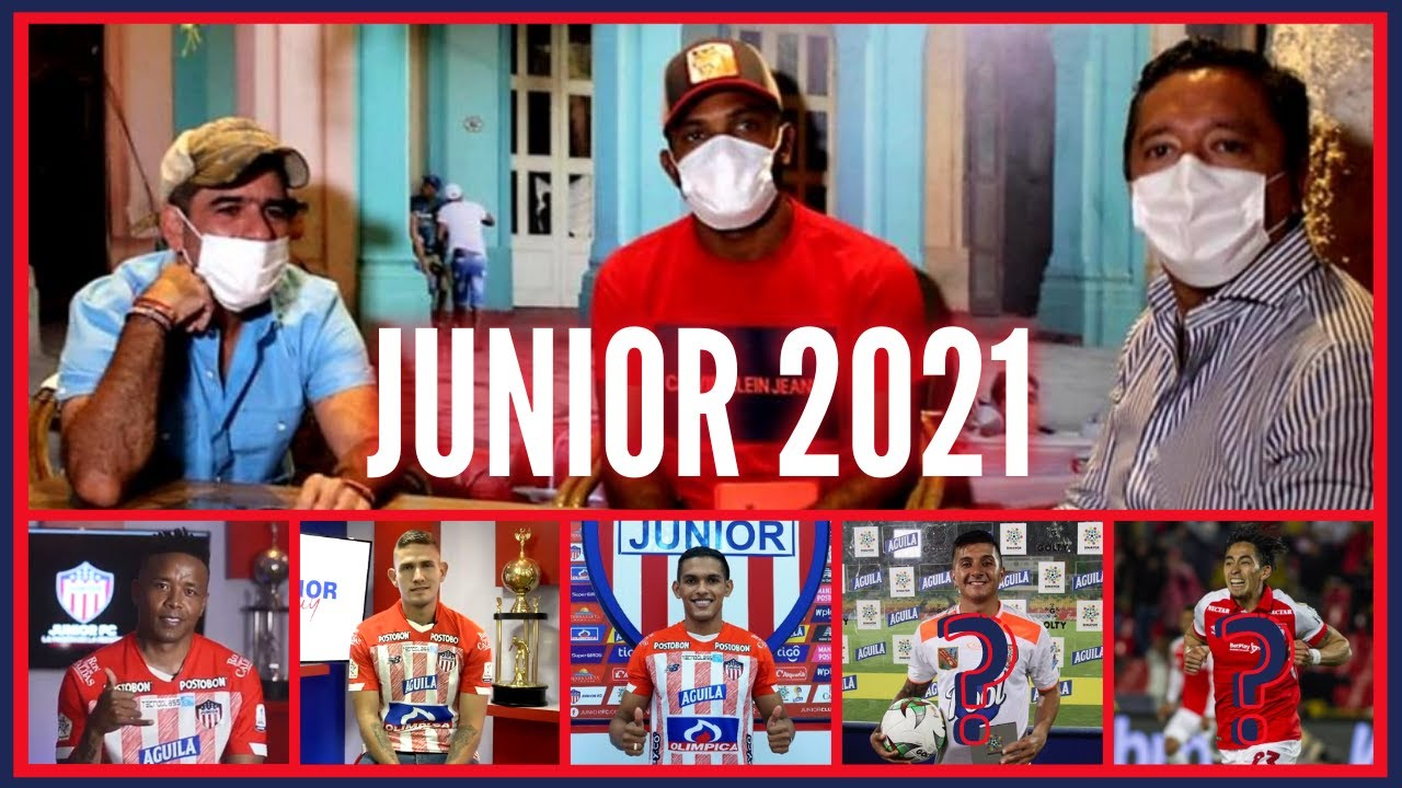 ¡SE ARMA el JUNIOR 2021! | MIGUEL BORJA se QUEDA | ¿FICHAN a YEISON GUZMÁN, VELASCO y SAMBUEZA?