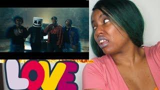 Marshmello x SOB X RBE - Don't Save Me (Official Music Video) Reaction