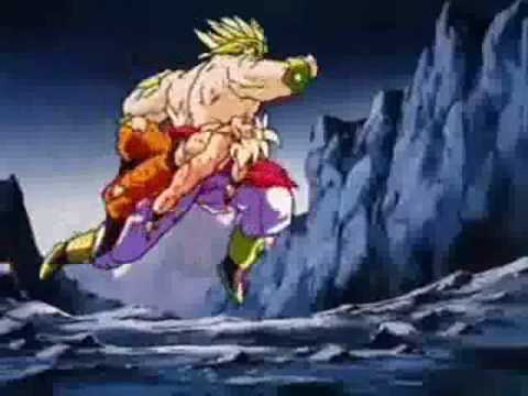 DBZ AMV- Broly- Disturbed- The Night