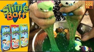 액괴만들기, 액체괴물 만들기 l slime baff l 젤리 만들기, slime play