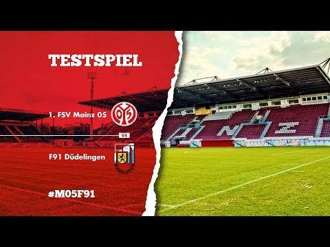 LIVE: Testspiel | 1. FSV Mainz 05 - F91 Düdelingen | 05er.tv
