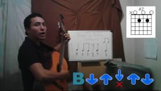 Ritmo de paseo vallenato en guitarra/Cómo tocar paseo vallenato en guitarra