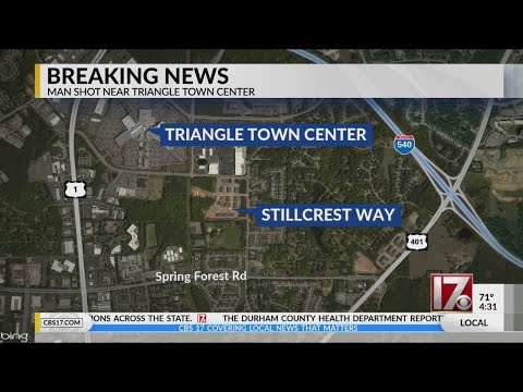 Man Shot At Apartment Complex Near Triangle Town Center