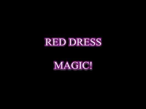 Red Dress - MAGIC! (Karaoke with simple video and high quality sound)