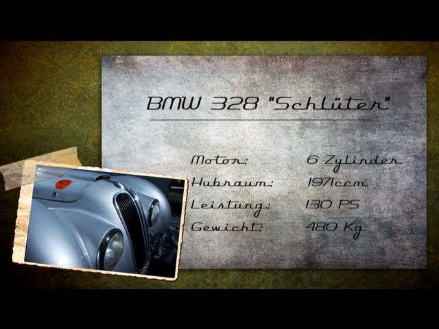 """Lancia Astura 233C Aerodynamica und BMW 328 """"Schlüter"""" Oldtimer"""