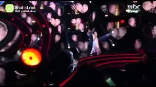 Arab Idol   الأداء   محمد عساف وسلمى رشيد   لو كنت نسيت