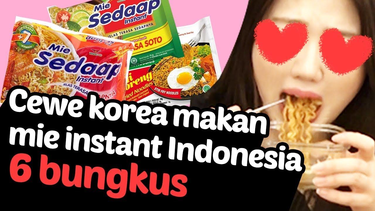 [Mukbang] Pesta Mie Instant Indonesia (feat. Indomie, Mie Sedap)