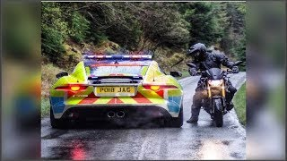 Best Motorcycle FAIL & WIN Compilation 2018 Moto Crashes