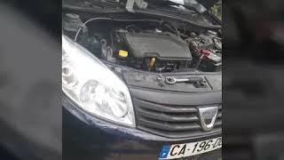 Comment changer le kit distribution plus la pompe à eau Dacia Sandero 2013 essence gpl moteur 1.2