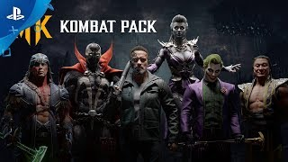 Mortal Kombat 11 - Gamescom 2019 Official Kombat Pack Roster Reveal Trailer | PS4