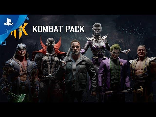 Mortal Kombat 11 - Gamescom 2019 Official Kombat Pack Roster Reveal Trailer | PS4