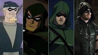 Эволюция Зеленой Стрелы в мультфильмах и кино