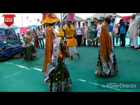 Classic nimadi gangor dance in hanumantiya Jal Mahotsav 2016 17 Khandwa Madhya Pradesh India