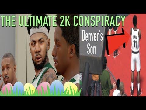NBA 2k18 CONSPIRACY | NBA 2k18 EASTER EGG