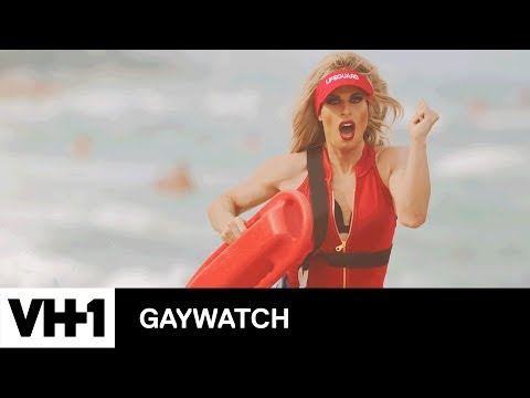 'Gaywatch' by Katya & Bob The Drag Queen | Baywatch (RuPaul's Drag Race Edition)