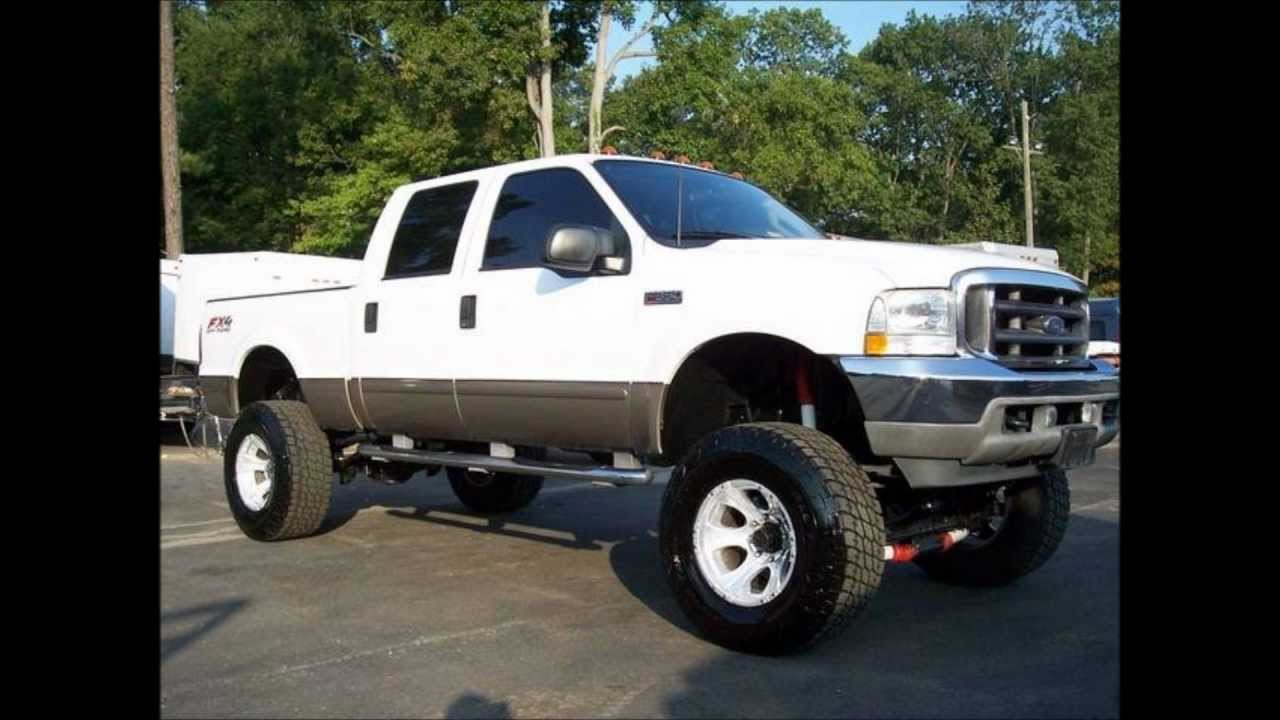 Crew Cab Box Truck For Sale >> 2003 Ford F350 Lariat Lifted Truck For Sale - YouTube