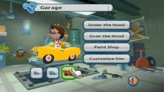 MySims Racing trailer
