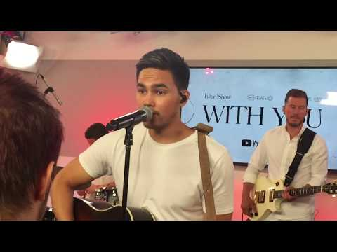 """""""With You"""" Live By Tyler Shaw, YouTube Secret Session In Toronto"""