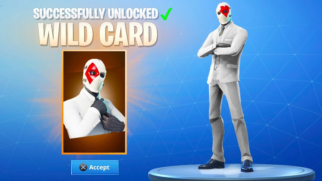 How to Get NEW WILDCARD SKIN in Fortnite! (New Fortnite WildCard Skin  Update)