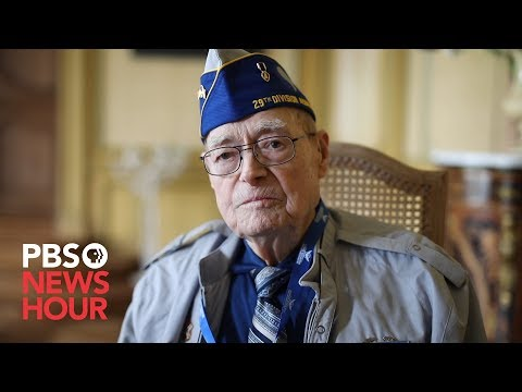 D-Day veterans describe the invasion in their own words