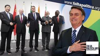 Bolsonaro comemora avanço da transposição do rio São Francisco e participa da Cúpula do BRICS