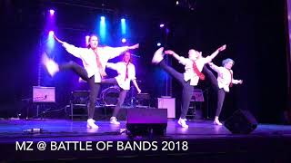 Movement Zone Showcase At Battle Of The Bands, Regional Finals 2018