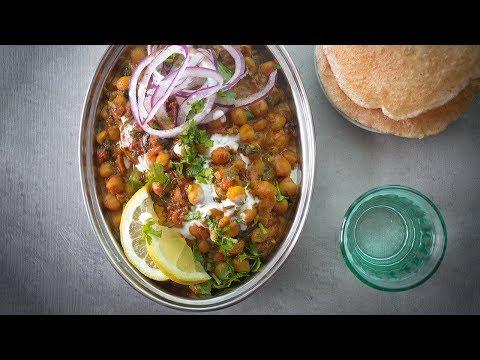 recette-indienne-végétarienne-palak-chana-₪-pankaj-sharma