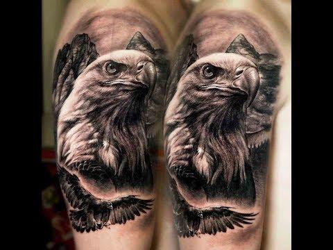 Eagle Tattoos - Best Eagle Tattoo Design Ideas