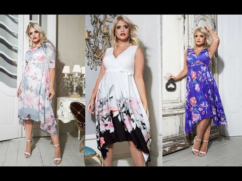 6a2e44ce64 Letnie sukienki plus size - duże rozmiary dla puszystych pań - YouTube