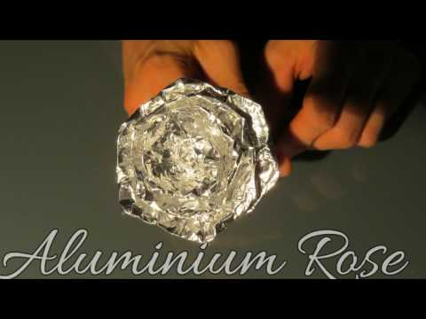 DIY   Aluminium Rose