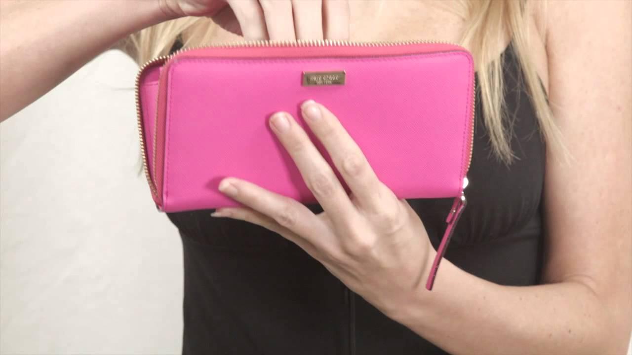 Kate Spade Wallet In Bright Pink